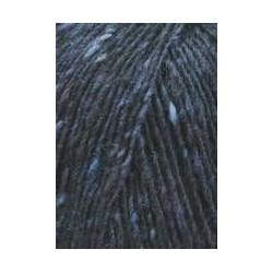 Lang Yarns Donegal Tweed. Farve 25, navy