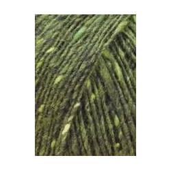 Lang Yarns Donegal Tweed. Farve 98, oliven