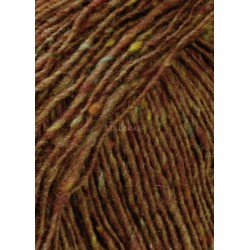 UDGÅET Lang Yarns Donegal Tweed. Farve 167, rust