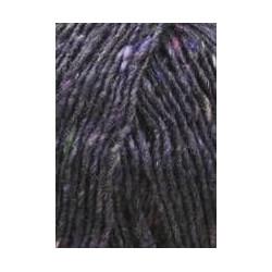 Lang Yarns Donegal Tweed. Farve 90, mørk violet