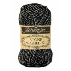 Scheepjes Stone Washed XL 50g, farve 843 Black Onyx