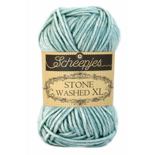 Scheepjes Stone Washed XL 50g, farve 853 Amazonite