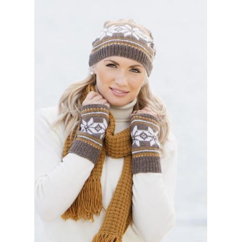 Hue, pulsvarmere og halstørklæde - Viking Design 1514-1 Kit - Dame+herre - Viking Sportsragg
