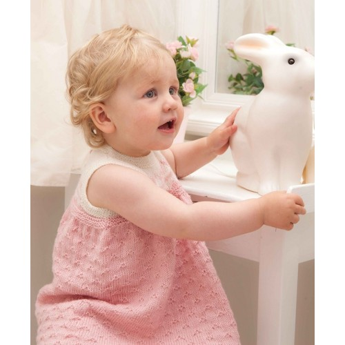 Kjole - Viking Design 1114-4 Kit - 3-24 Mdr. - Viking Baby Ull