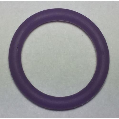Suttekæde O-ring lilla. størrelse ca. 29mm