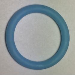 Suttekæde O-ring lyseblå. størrelse ca. 29mm