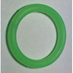 Suttekæde O-ring grøn transparent. størrelse ca. 29mm