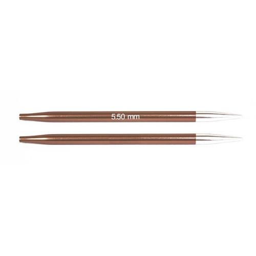 Knitpro Zing udskiftlige rundpinde 1 sæt, 5,5mm
