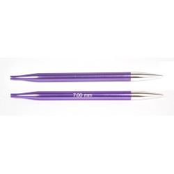 Knitpro Zing udskiftlige rundpinde 1 sæt, 7mm