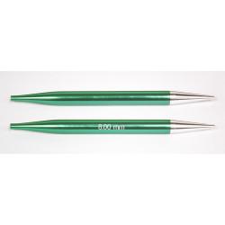 Knitpro Zing udskiftlige rundpinde 1 sæt, 8mm