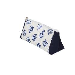 Knitpro Grace S2, stof pung til pinde og andre småting ca. 21cm x 7cm