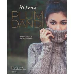 Strik med Plum Dandi af Alicia Plummer & Melissa Schaschwary