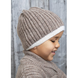 """alv"" hue - viking design 1602-3 kit - 2-12 år - viking frøya garn"