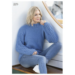 "Image of   ""dam"" genser - viking design 1811-8 kit - xs-xxl - viking alpaca"