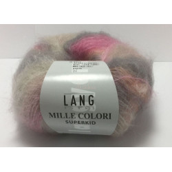 UDGÅET Mille Colori Superkid. Farve 30, laks/rose/grå