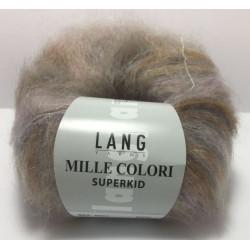 UDGÅET Lang Yarns Mille Colori Superkid. Farve 51, multifarvet pastel