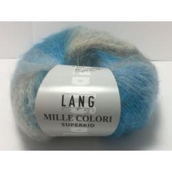 Mille Colori Superkid. Farve 96, sand/lys blå/grå
