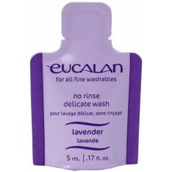 Uldvask Eucalan med lanolin og lavendel, prøvepakke. 5ml