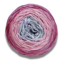 Lang Yarns Bloom farve 09, rose/syren