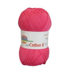 Cotton 8. Farve 1330, pink