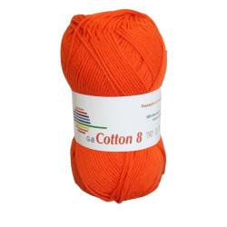 Cotton 8. Farve 1710, orange