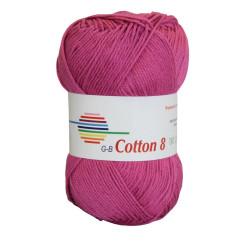 Cotton 8. Farve 1770, magenta