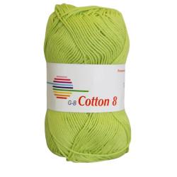 Cotton 8. Farve 1840, lemon