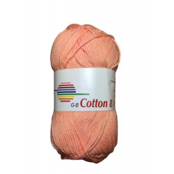 Cotton 8. Farve 1815, laks