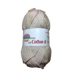 Cotton 8. Farve 1530, beige