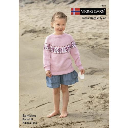 Gratis Viking katalog 1918, børn, Bambino eller baby ull, UDEN opskrifter