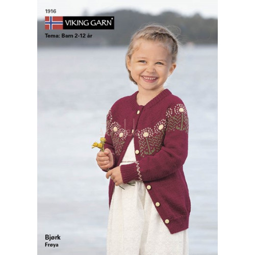 Gratis Viking modeller, katalog 1916 - Børn, Viking Bjørk, UDEN opskrifter