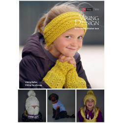 Viking strikkeopskrifter katalog 1711, børn, reflex eller sportragg
