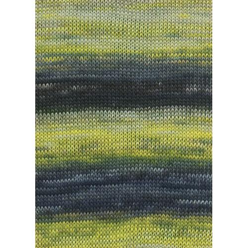Lang Yarns Dipinto, Farve 14, gul/grå/beige