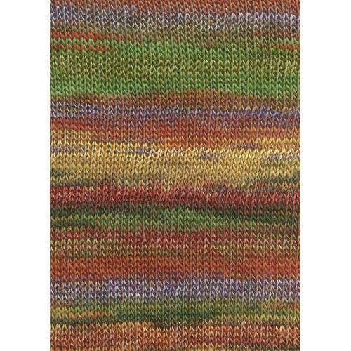 Lang Yarns Dipinto, Farve 50, guld/orange
