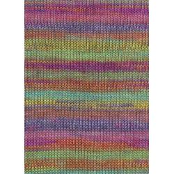 Lang Yarns Dipinto, Farve 51, multifarvet pastel