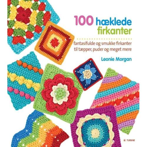 100 hæklede firkanter
