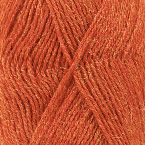 Drops Alpaca MIX farve 2925 orange meleret