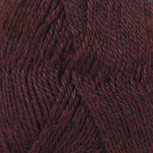 Drops Alpaca MIX farve 3969 rød/lilla