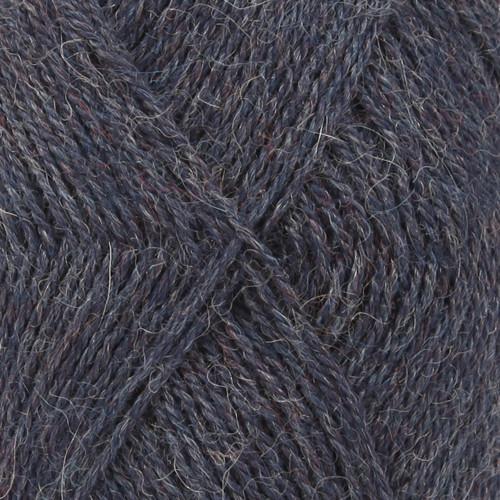 Drops Alpaca MIX farve 6360 blå