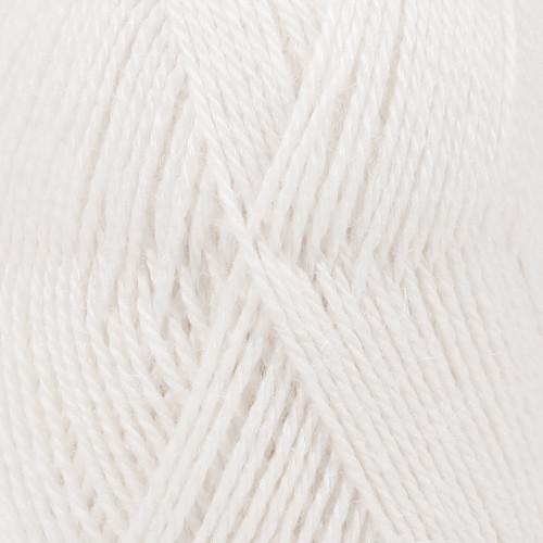 Drops Alpaca UNI farve 101 hvid