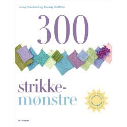 300 strikkemønstre - Lesley Stanfield og Melody Griffiths bog