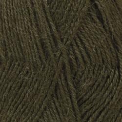 Drops Alpaca UNI farve 7895 army grøn