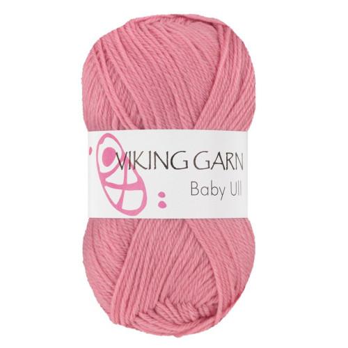 Viking Baby ull 363 mørk rosa