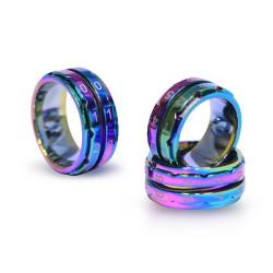 Knitpro ring omgangstæller/pindetæller, str 8 ( 18,2mm indermål), 1 stk