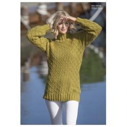 "Image of   ""dønning"" genser - viking design 1812-3 kit - xs-xl - viking alpaca"
