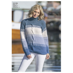 "Image of   ""dregg"" genser - viking design 1812-6 kit - xs-xxl - viking alpaca"