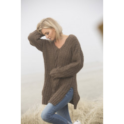 "Image of   ""halm"" genser - viking design 1807-2 kit - xs-xl - viking alpaca"