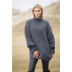 "Image of   ""dønning"" genser - viking design 1807-6 kit - xs-xl - viking alpaca"