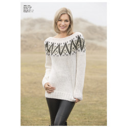 "Image of   ""dis"" genser - viking design 1806-3 kit - xs-xxl - viking alpaca"