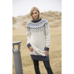 "Image of   ""dimme"" genser - viking design 1806-4 kit - xs-xxl - viking alpaca"